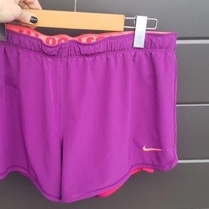 nike fluorescent shorts